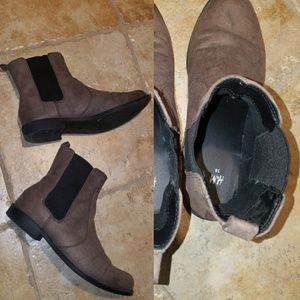 Italian H&M Suede Boots